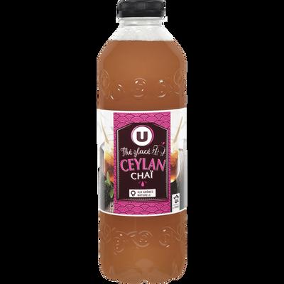 Boisson au thé Ceylan Chai U, bouteille de 1l