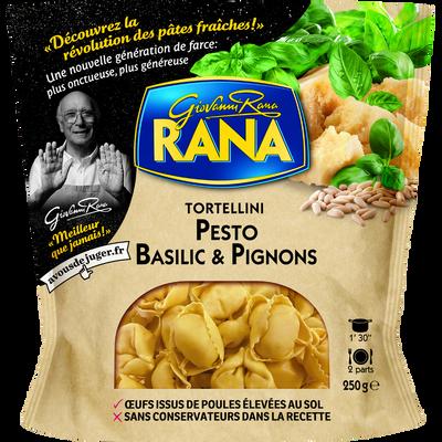 Tortellini pesto basilic et pignons RANA, 250g