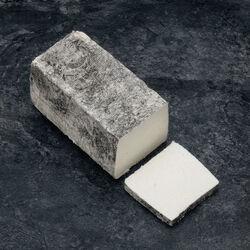 Brique de chèvre au lait cru cendrée fermière CABRI D'ANJOU,14%MG,