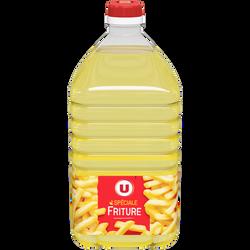 Spécialité huile pour friture nouvelle formule U, bidon de 2 litres