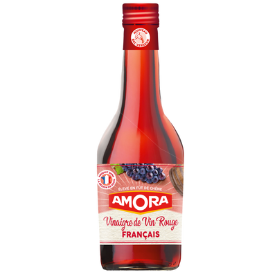 Vinaigre vin rouge AMORA, 600ml