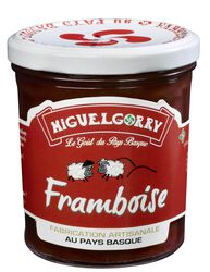 *CONFITURE FRAMBOISE EPEPINEE 320GR MIGUELGORRY