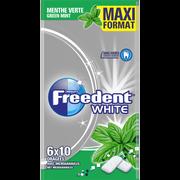 Freedent Freedent Multipack 6x10 Dragées Maxi Format - White Menthe Verte