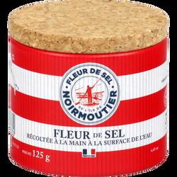 Fleur de sel de Noirmoutier nature & progres SEL MARIN DE L'ILE DE NOIRMOUTIER 125G
