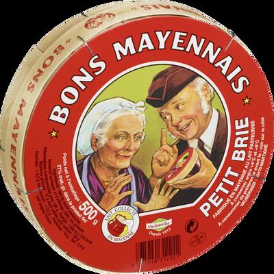 Petit brie Le Bon Mayennais, 27%MG, 500g