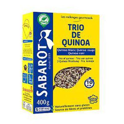 les mélanges gourmands trio de quinoa 500g SABAROT