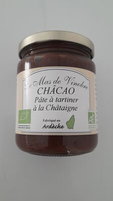 Mas de Vinobre,CHÂCAO, PATE TARTINER CHATAIGNE/CACAO, 320gr