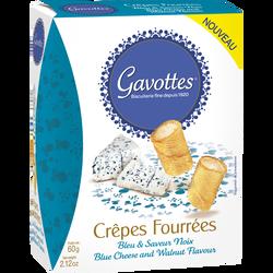 Crêpes fourées bleue noix GAVOTTES, paquet de 60g