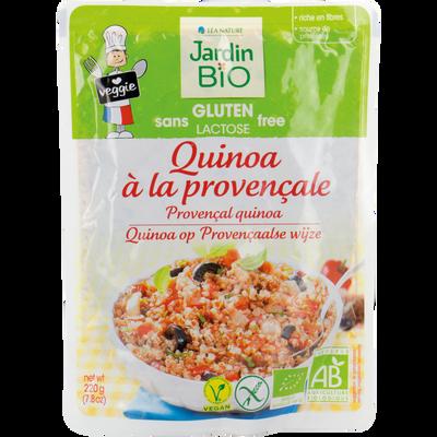 Quinoa provençal et légumes bio JARDIN BIO 220g
