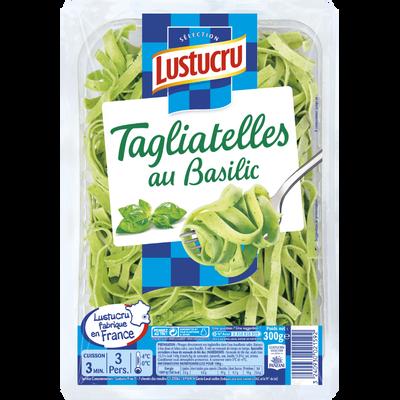 Tagliatelles au basilic LUSTUCRU Sélection, 300g