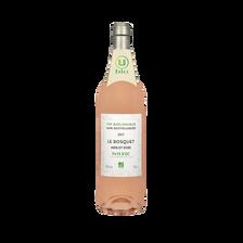 Vin rosé IGP Pays d'OC Merlot sans sulfites le Bosquet U BIO