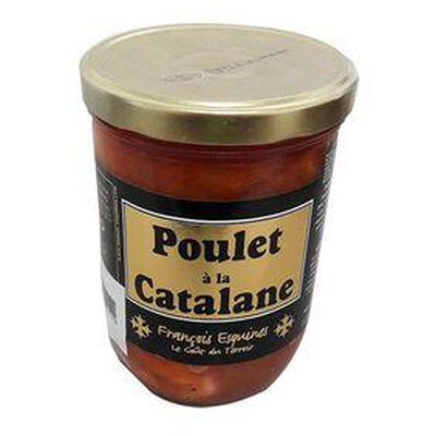 Poulet à la Catalane, Bocal de 800g, FRANCOIS ESQUINES