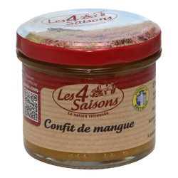 Confit de mangue au curry 4 SAISONS, 125g