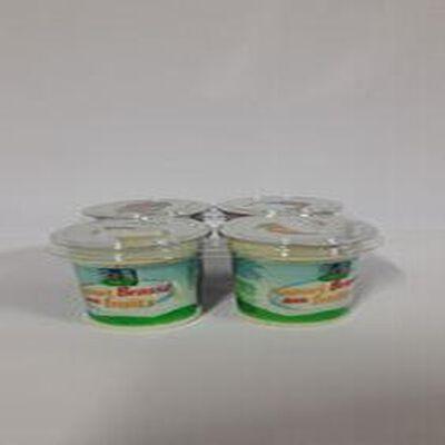 Yaourts brassé aux fruits 4x100g La Ferme de la Sablonnière
