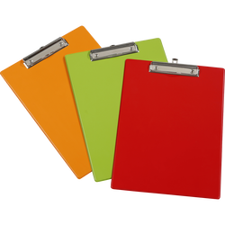 SUPPORT A PINCE VIQUEL 24X34CM-COLORIS ASSORTIS:ROUGE,VERT,ORANGE
