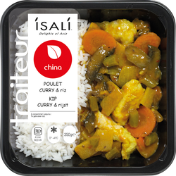 Poulet curry ISALI,