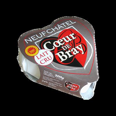 Neufchâtel AOP au lait cru COEUR DE BRAY, 24% de MG, 200g