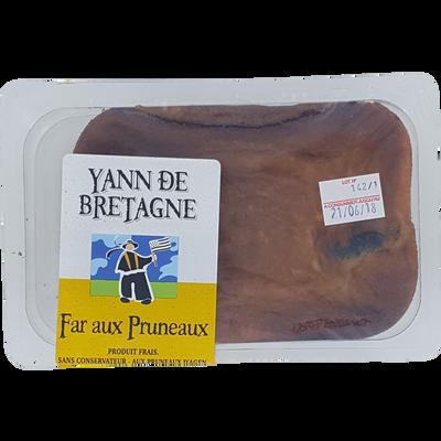 Far breton pruneaux, 1 pièce, 350g