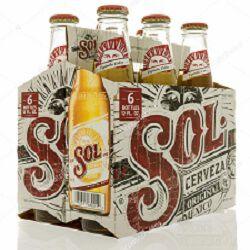 Bière, SOL, 4,5°, le pack de 6x33cl