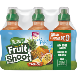 Boisson plate tropicale Fruit shoot TEISSEIRE, 9x20cl