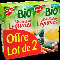 Soupe mouliné de légumes bio LIEBIG, 2x1l