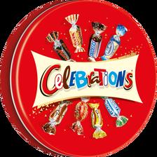 Chocolats assortis CELEBRATIONS, boîte métal de 435g