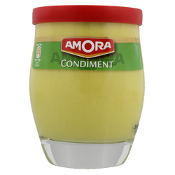 Condiment AMORA, verre de table de 245g