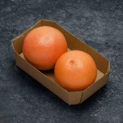 Pomelos rouge, BIO, calibre 45/55mm, catégorie 2, Mexique, barquette 2fruits