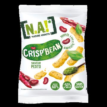 [N.A!] Nature Addicts N.a! Crisp'bean Saveur Pesto, 50g