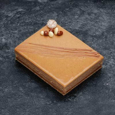 Croustillant caramel beurre salé décongelé, 2 pièces, 170g