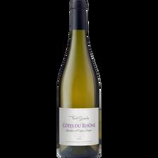 Vin blanc Côte du Rhône AOP FONT SANTE, bouteille de 75cl