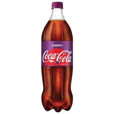 Soda COCA COLA Cherry, bouteille de 1,25L