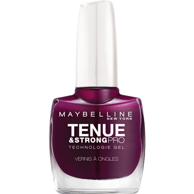 Vernis à ongles tenue & strong ever burgundy 270 MAYBELLINE, nu