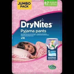 Culottes drynites 4-7 girls disney 17-30kg HUGGIES, x16