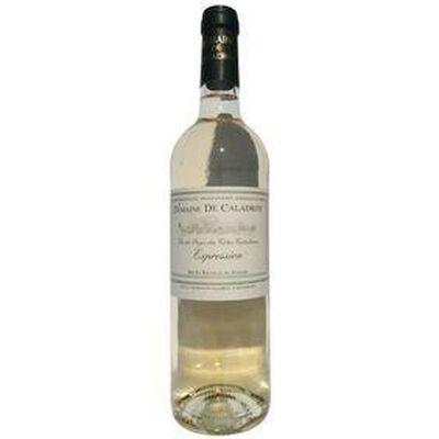 L'EXPRESSION  IGP cotes Catalanes , CHATEAU DE CALADROY, bouteille de 75cl