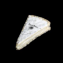 Brie de Meaux Appellation d'Origine Protégé lait cru 21%mg portion +/-285g