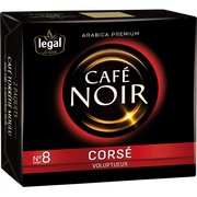 Legal Café Moulu Corsé Noir Legal, 2x250g