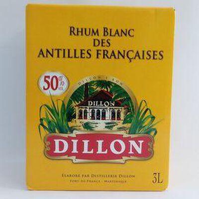 RHUM BLANC DILLON 50° 3L