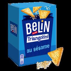 Crackers triangolini sésame et pavot Lu Belin, paquet de 100g
