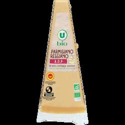 Pointe parmigiano reggiano lait cru 18 mois d'affinage AOP 30%MGU BIO 180g