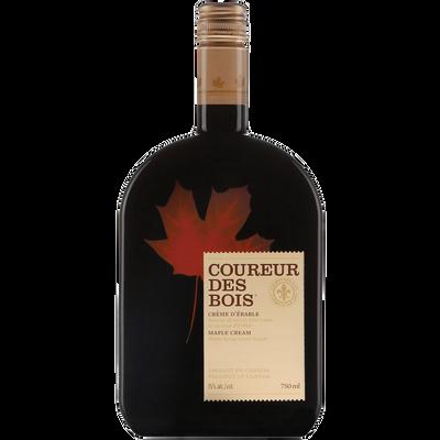 Créme d'érable COUREUR DES BOIS 15°, bouteille 750ml