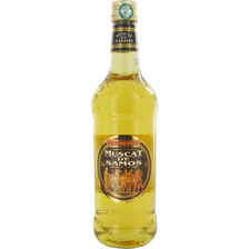 Muscat de samos grand cru, 15,5°, bouteille de 75cl