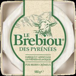 Fromage au lait de brebis pasteurisé LE BREBIOU, 27%mg, 80g