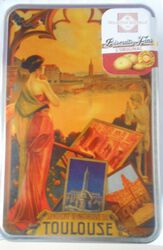 COFFRET BISCUITS BOITE TOULOUSE 300G