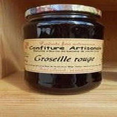 Confiture de groseille, Recette du Jura, 430g