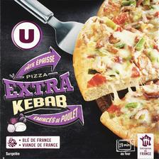 Pizza extra américaine kebab U, 530g