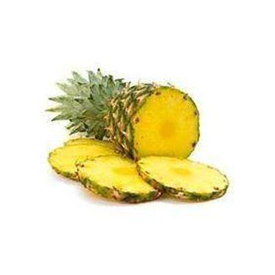 Ananas fraîchement découpé du jour