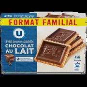 LU Petit Beurre Tablette Chocolat Au Lait U, 300g