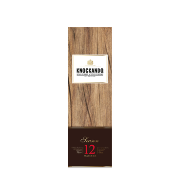 Scotch Whisky Single malt KNOCKANDO, 12ans, 43°, 70cl + étui master pièce