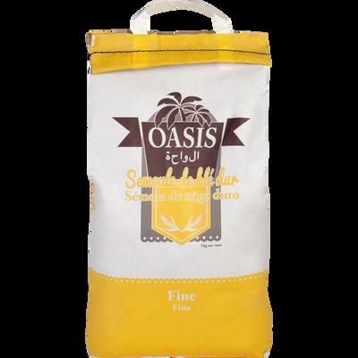 Semoule de blé dur fine OASIS, paquet de 5kg